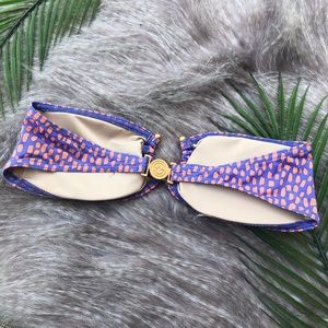 Victoria's Secret Swim - Victoria's Secret | purple & orange swim top small